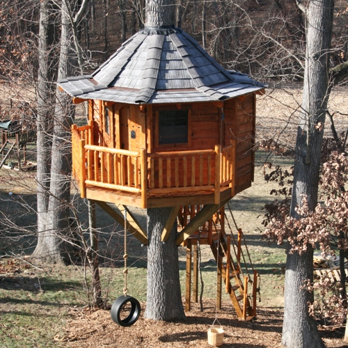 Custom Tree House Design Tree House Plans
