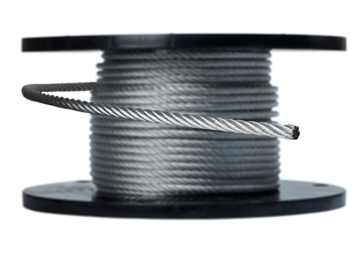 3 8 Steel Cable : Quot galvanized aircraft cable