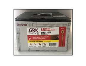 "5/16"" x 3-1/8"" RSS screws by GRK Fasteners Bulk 500"