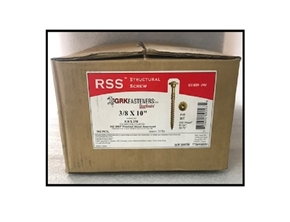 "3/8"" x 10"" RSS screws by GRK Fasteners"