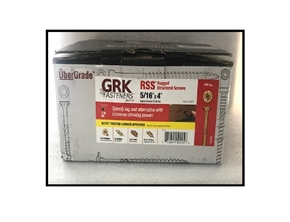 "5/16"" x 4"" RSS screws by GRK Fasteners Bulk 400"