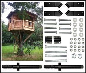 10' Hexagon Treehouse Kit