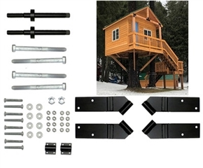 10' Square Treehouse Kit