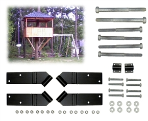 6' Square Treehouse Kit