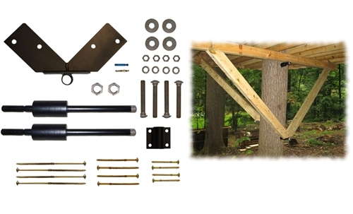 Tri beam deluxe kit tab treehouse bolts amp hardware