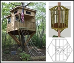 Hexagon Treehouse
