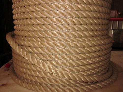 Rope For Bridge Handrail 1 1 8 Quot Polyester 3 Strand Rope