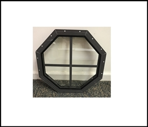 Octagon Treehouse Window - 14""