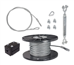 "DIY 1/4"" Cable Kit - 150'"