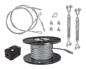 "DIY 5/16"" Cable Kit - 150'"