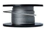 "5/16"" 7X19 Galvanized Aircraft Cable"