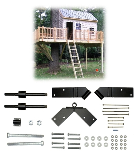tree house plans for one tree. one tree 2 post 12u0027x14u0027 treehouse kit house plans for b