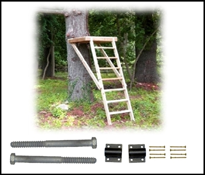 Treehouse supplies plans bolts kits zip lines accessories for zip line launch platform kit solutioingenieria Choice Image