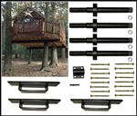 4 Tree Treehouse Kit - Small