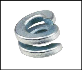 "5/8"" Galvanized Double Lock Washer"