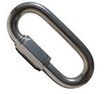 "3/8"" Zinc Plated Quick Link"