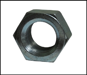 "TAB Nut 1-1/4""-12 Zinc plated steel"