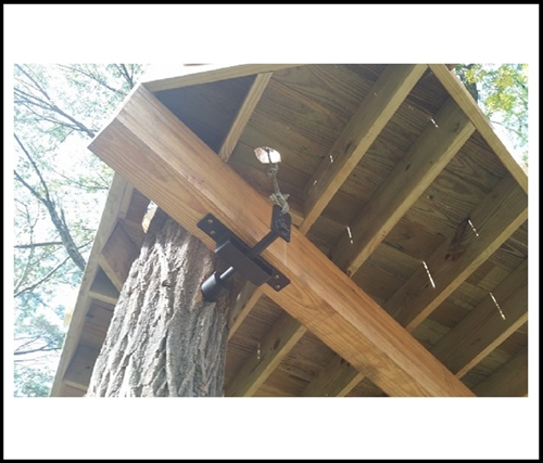 Treehouse Brackets and Large Lag Bolts TABs