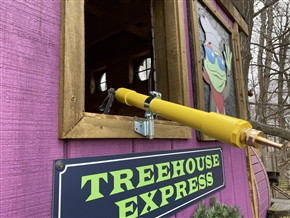 Tree House Water Cannon