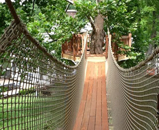Treehouse supplies plans bolts kits zip lines accessories for tree house bridge kits shop now solutioingenieria Choice Image